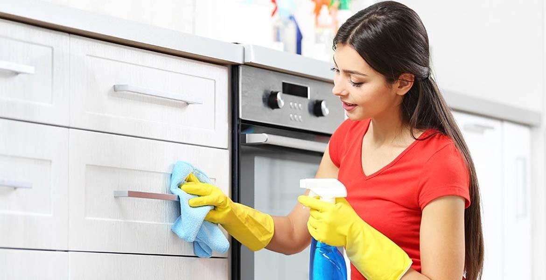 mutfak dolabi temizligi